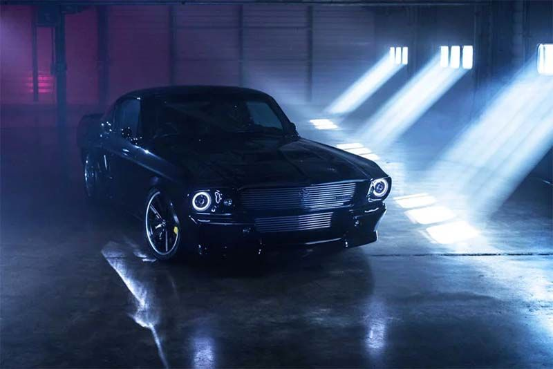 1960s Mustang Goes AWD Electric And It