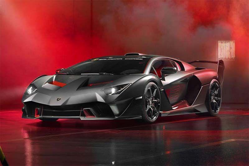 Lamborghini Reveals Its Bespoke SC18 Hypercar 1