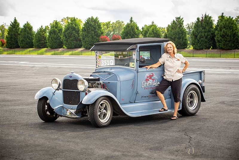 Racing Granny Cheryl Kaiser And Her 1929 Ford Model A Hot Rod 1