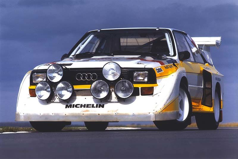 A Quick History Of The Audi Quattro 1