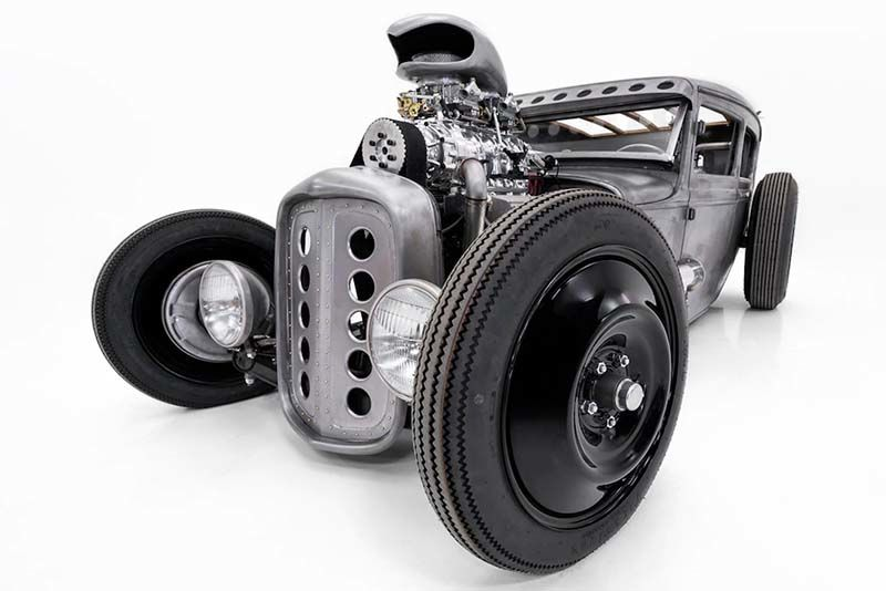 A Rat Rod As Metal As Its Owner – And It