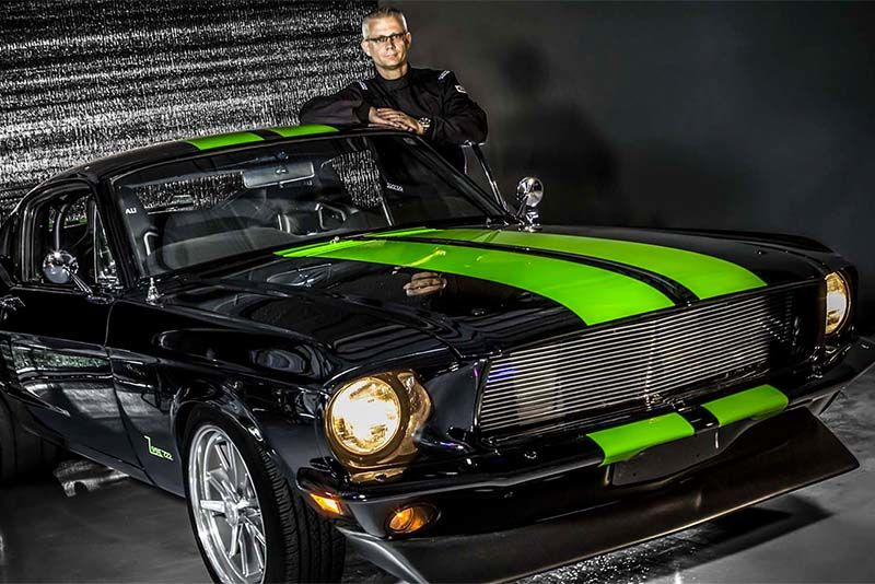 Welcome To The Zombie 222 – A 1968 All-Electric Mustang Fastback 1