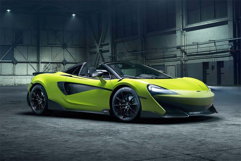 Feel The Wind In Your Hair: The New 2019 McLaren 600LT Spider 1