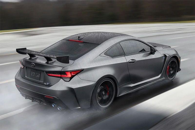 Lexus Unveils Bonkers RC F Track Edition 1