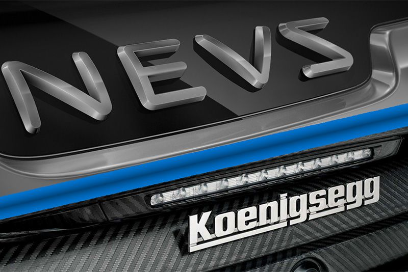 Koenigsegg Partners With NEVS For Electric Tech 1