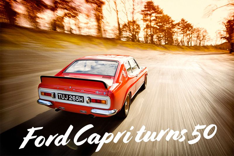 The Ford Capri Coupe Celebrates A 50-Year History 1