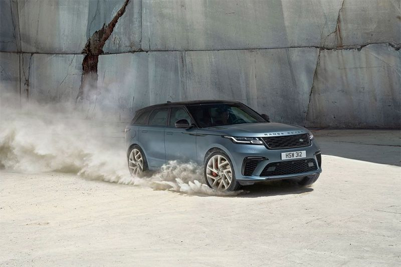 The Range Rover Velar Receives A 542bhp supercharged V8 1