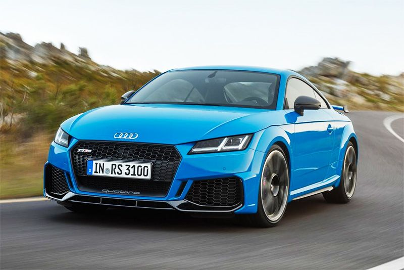 Audi TT RS Coupe And Roadster Receive A Facelift And More Power 1