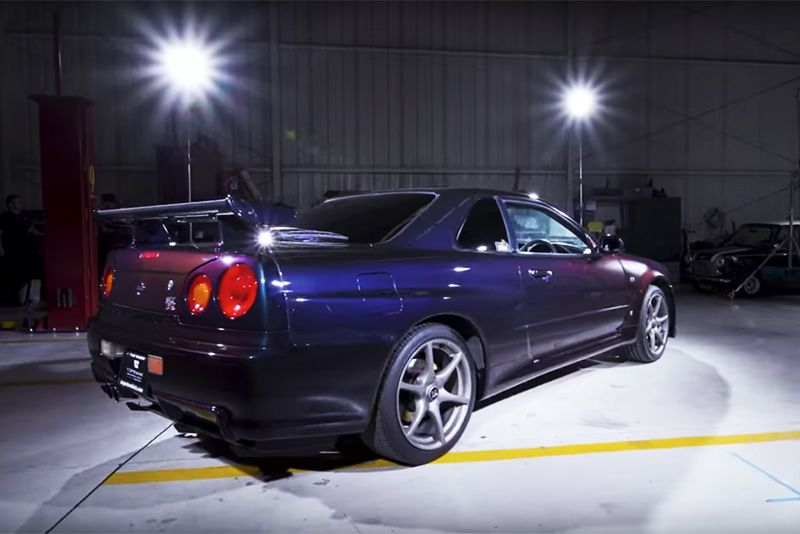 All About The R34 Nissan Skyline GT-R VSpec Godzilla 1
