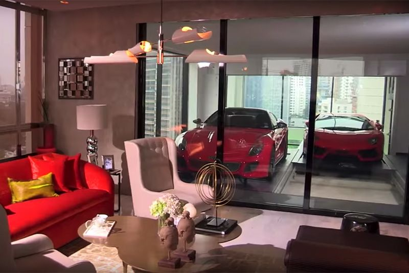 Unusual Garages That
