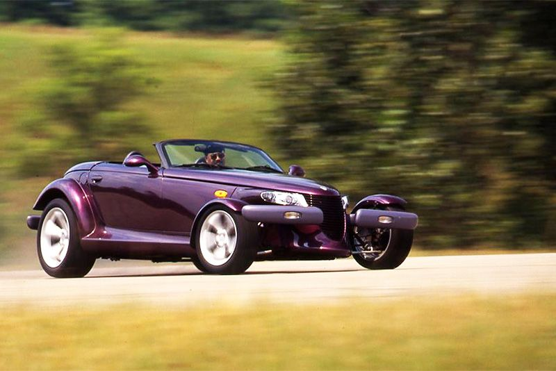 Weirdest Car Of The 90s... How About The Plymouth Prowler? 1