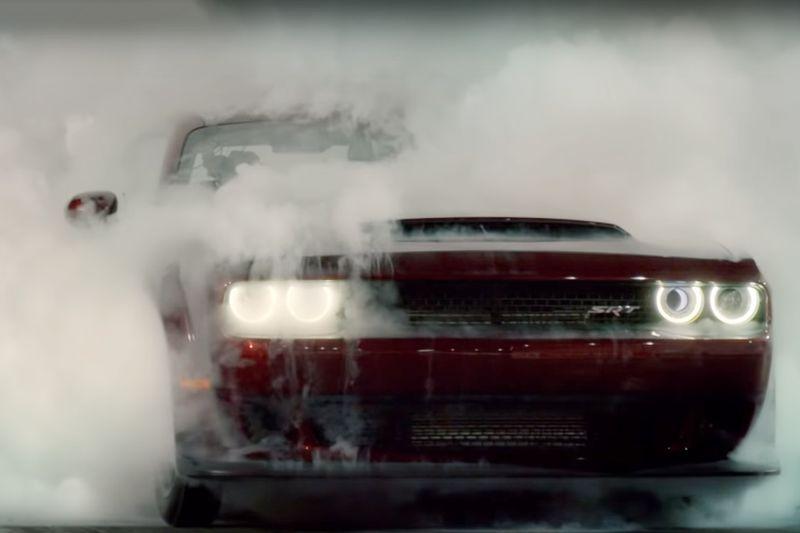 Dodge Demon vs Lamborghini Aventador - Top Gear: Series 25 1