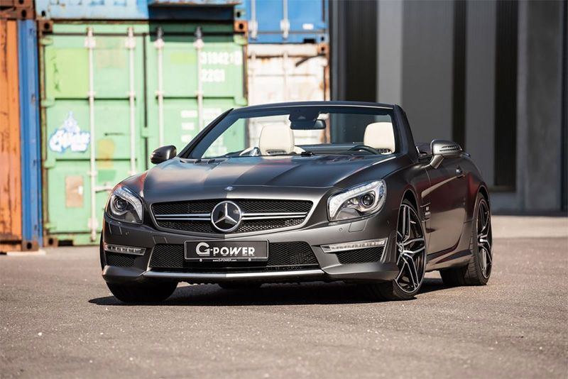 G-Power Upgrades The Mercedes-AMG SL63 To 800bhp 1