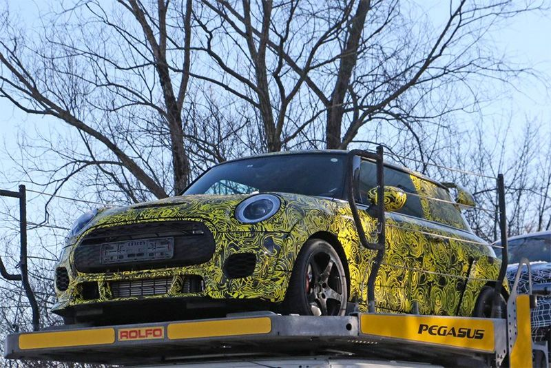 Spied: 2020 MINI John Cooper Works GP III With 300bhp 1