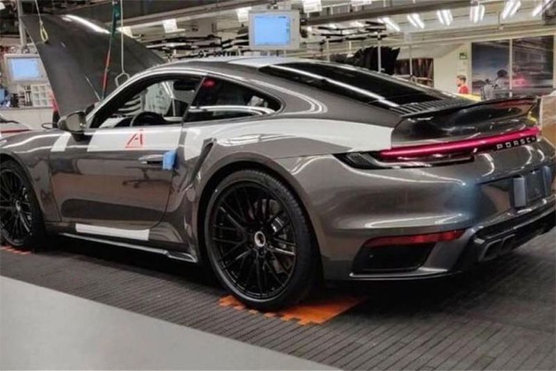 Is This A Leaked Pic Of The New Porsche 911 Turbo? 1