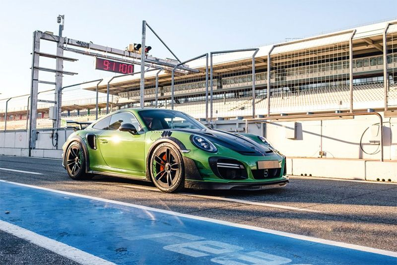Porsche 911 Turbo GTstreet RS By TechArt Pumps Out 770bhp 1