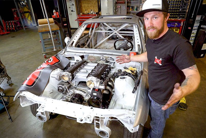 Can This Scrap M3 Become A Hoonigan Drift King? 1