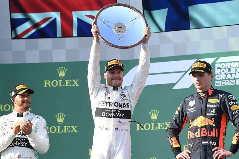 Valtteri Bottas Dominates The Australian F1 GP 1