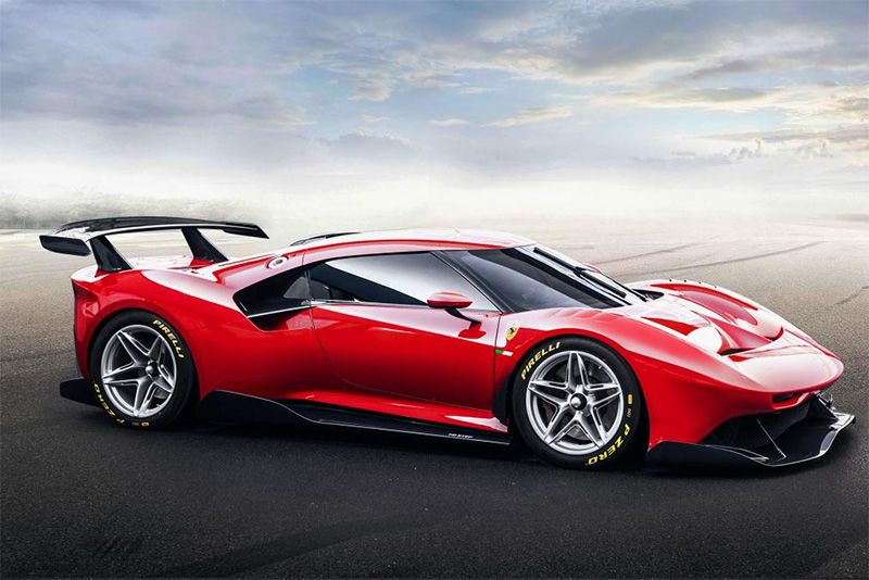 Ferrari Unveils Its One-off P80/C Track-Only