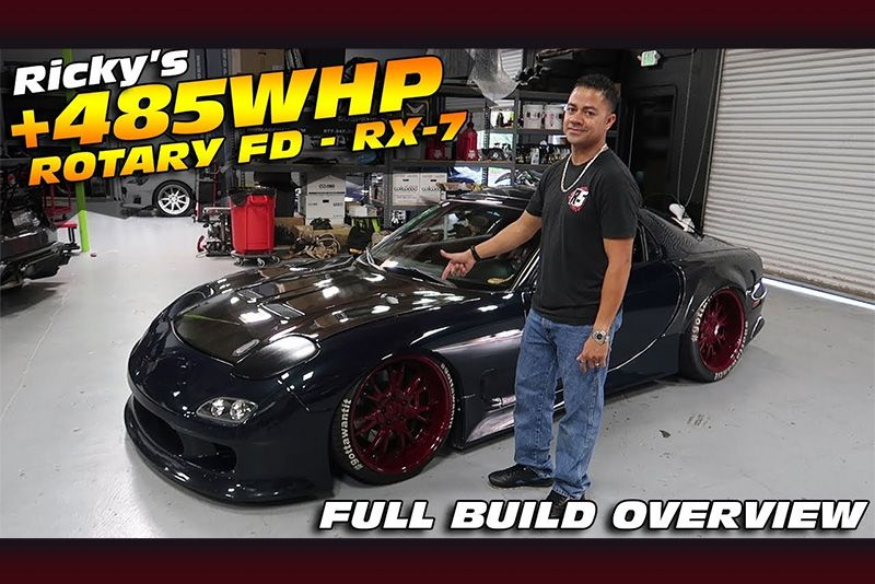 This 485whp Mazda RX-7 FD Build Is Awesome 1