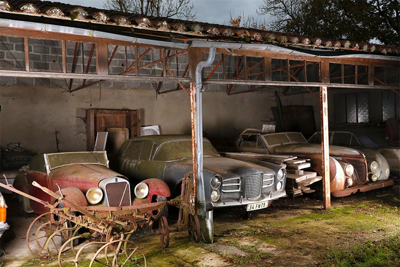 15 Expensive And Exclusive Abandoned Cars Discovered 1