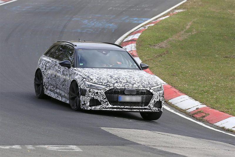 New Audi RS6 Avant Seen Testing At Nürburgring 1