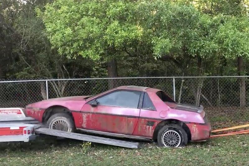 Reviving A 1985 Pontiac Fiero 2M4 1