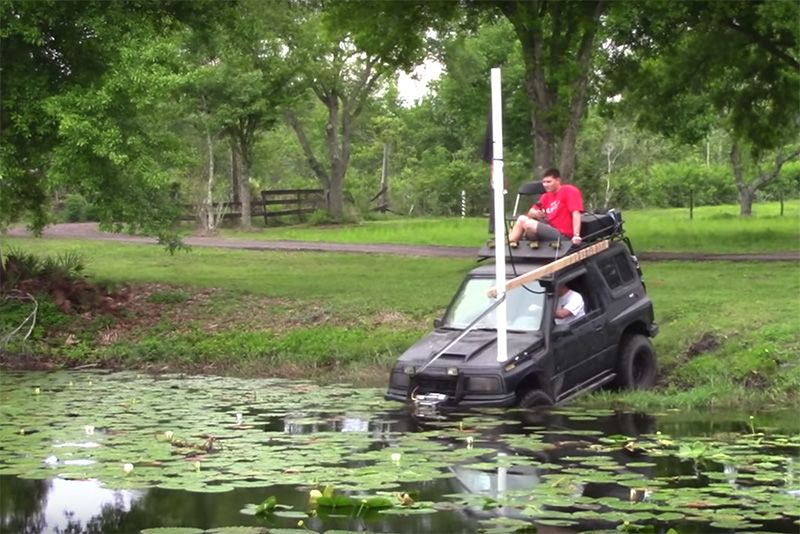 Can You Drive Your 4x4 Underwater? 1