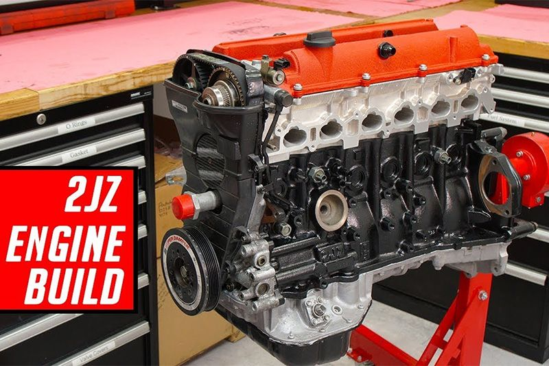 The Best Toyota 2JZ Engine Rebuild From Start to Finish 1