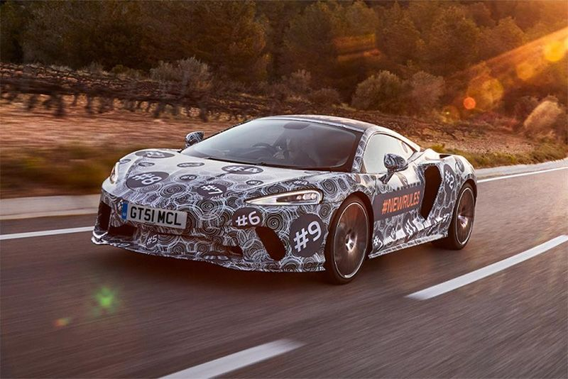 More Skin Revealed Of The New 2019 McLaren Grand Tourer 1