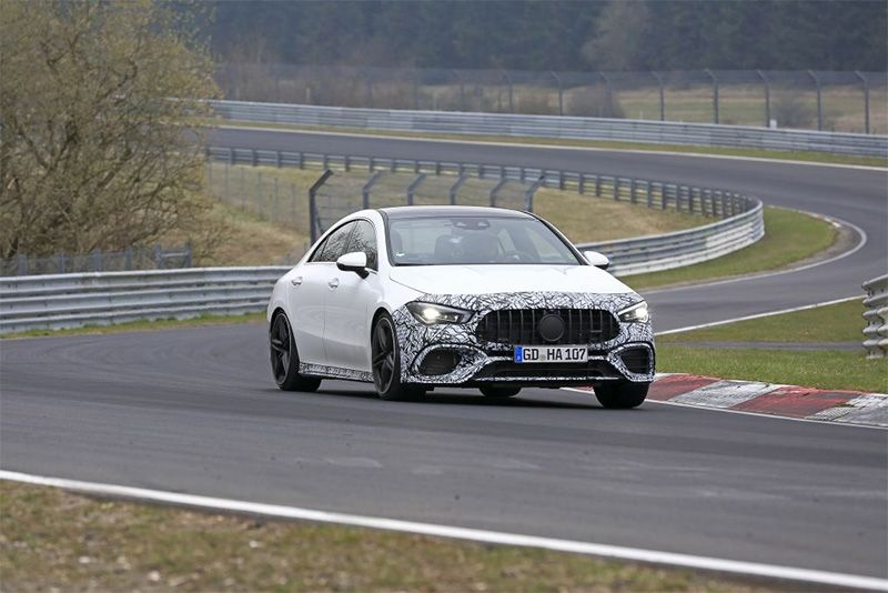 Is This Half-Unmasked Mercedes-AMG CLA45 An RS3 Beater? 1