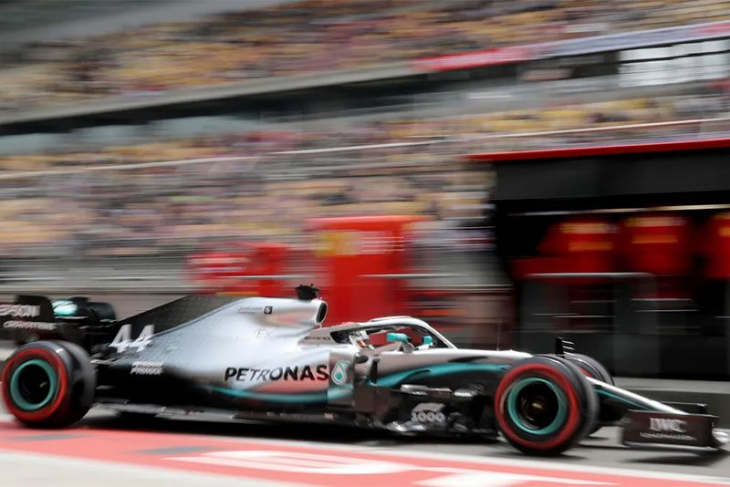 Lewis Hamilton Wins In China In F1 GP