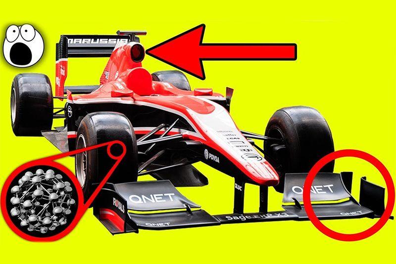 Top 10 Formula 1 Car Design Secrets 1