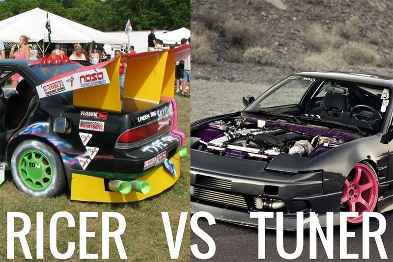 Ricer VS Tuner – A Hilarious Comparison 1