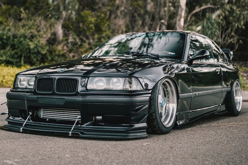 Wrecked BMW E36 M3 – Turning A Junker Into A Stunner 1