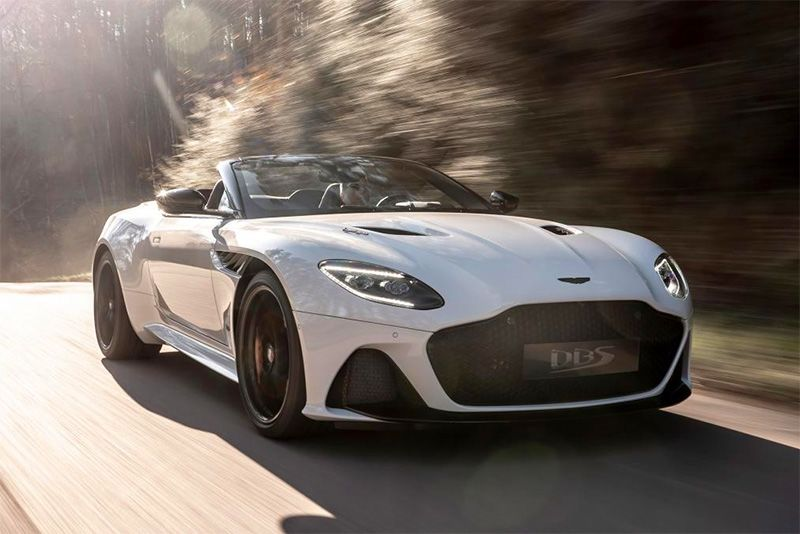 Drop Your Top With The Aston Martin DBS Superleggera Volante 1