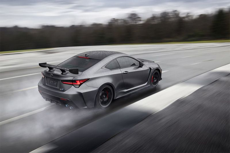 The Updated 5-Litre V8 Lexus RC-F And Track Edition 1
