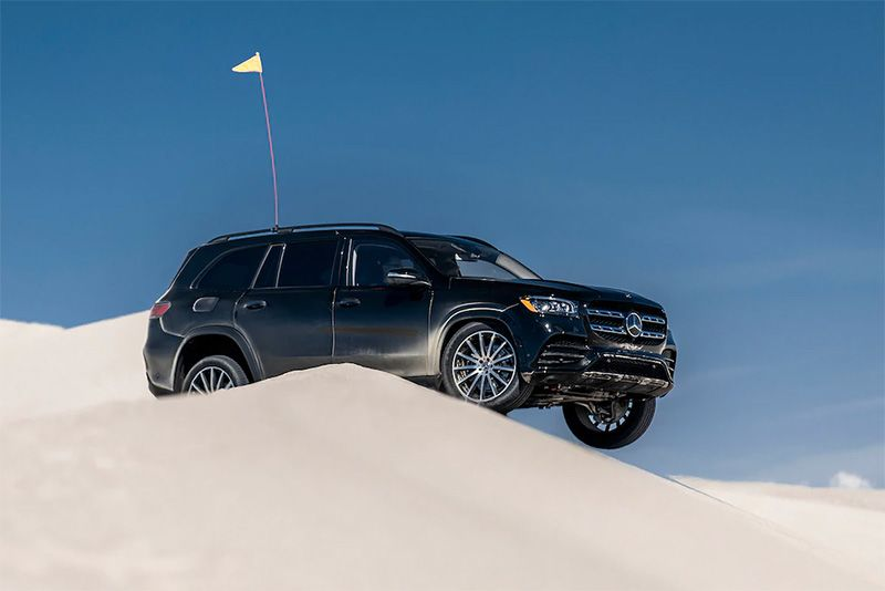 New Tech For The 2020 Mercedes-Benz GLS Thrills In The Dunes 1