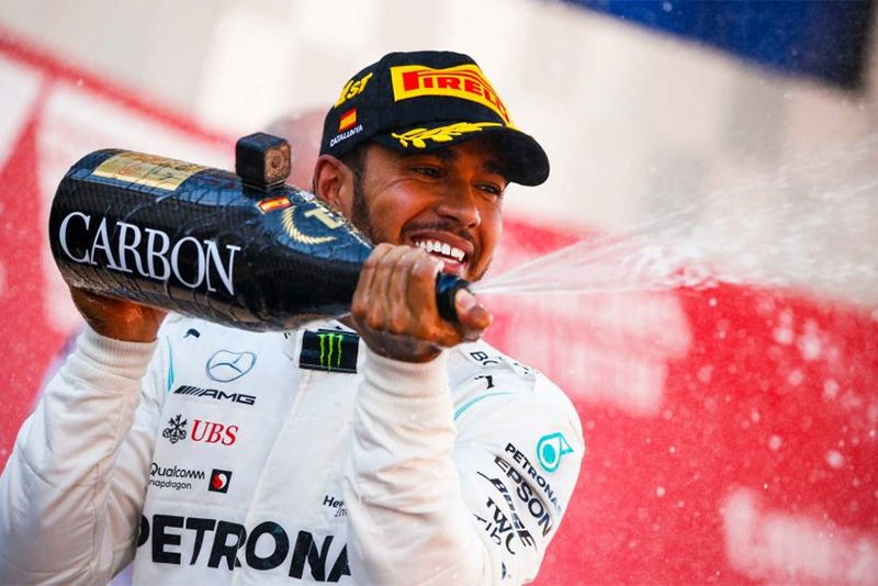 Mercedes Make It The Fifth One-Two In Spain F1 1