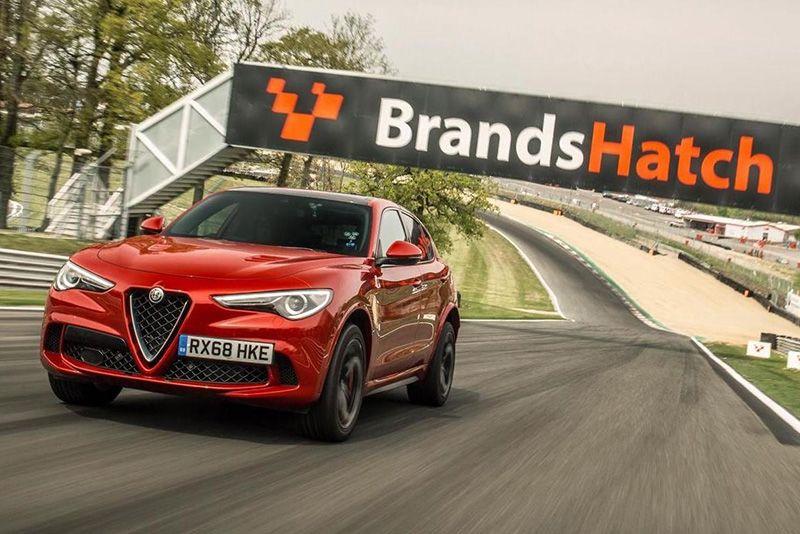 Alfa Romeo Stelvio Quadrifoglio Attempts New SUV Lap Record At Brands Hatch 1