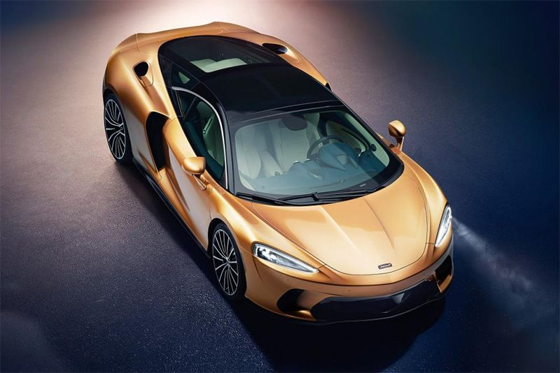 The New McLaren GT Takes Aim At The Bentley Continental GT 1