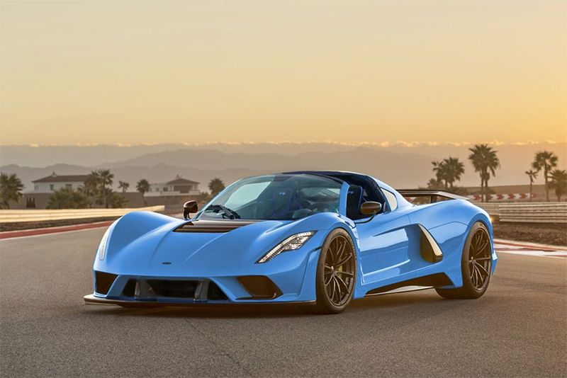 The 300mph Hennessey Venom F5 Might Go Topless 1