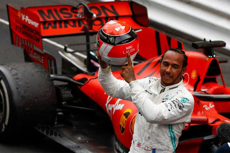 Lewis Hamilton Wins The Monaco Formula 1 Grand Prix 1