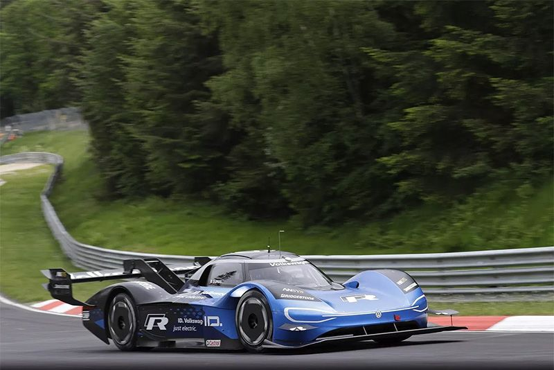 Electric Nürburgring Lap Record Smashed By The Volkswagen I.D. R 1