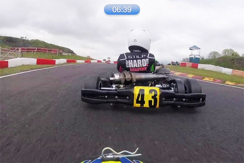 9-Year-Old Wins From P19 In British Karts Race 1