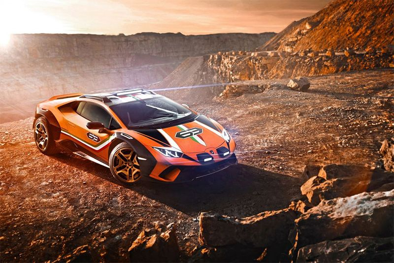 Lamborghini Wants To Go Rallying With This Huracán Sterrato Concept 1