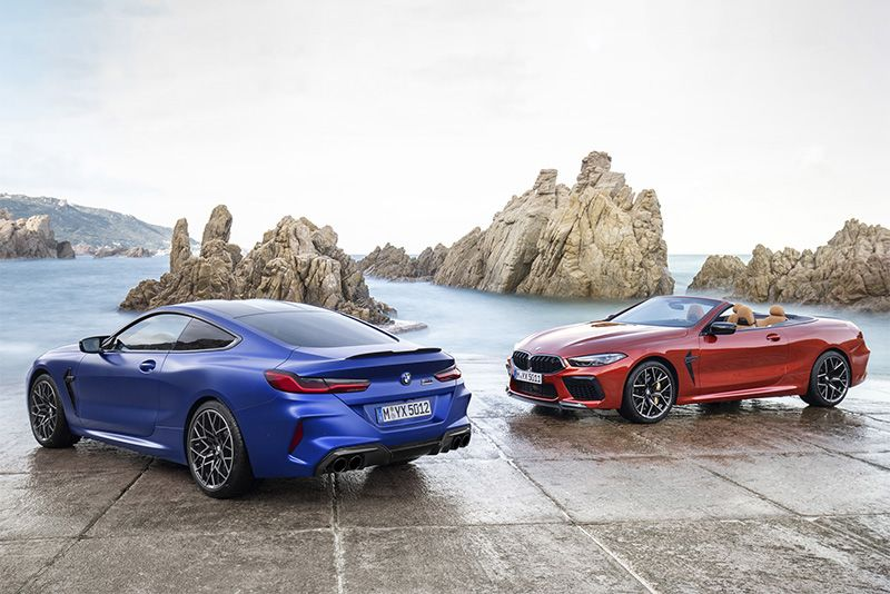 Top 10 Reasons To Buy A New BMW M8 Competition 1