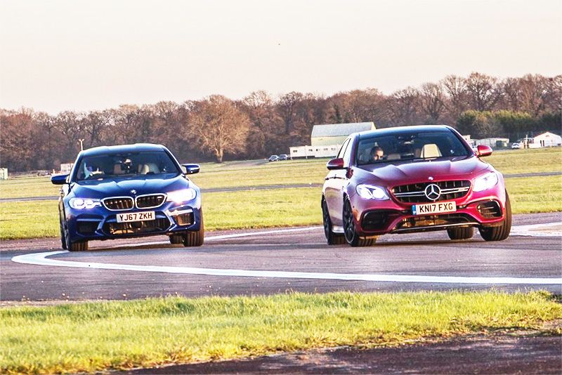 BMW M5 VS Mercedes AMG E63S: Who