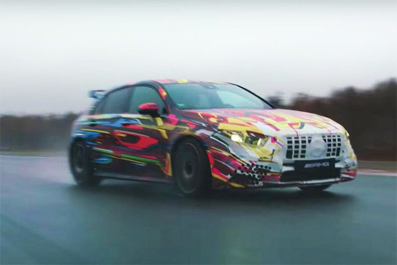 An Astonishing 415bhp For The Mercedes-AMG A 45 1