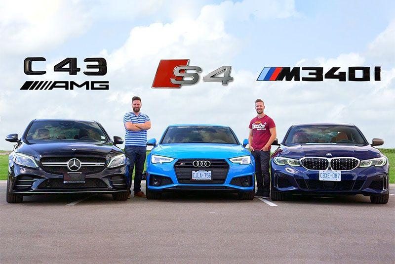Audi Vs Mercedes >> Head To Head 2020 Bmw M340i Vs Audi S4 Vs Mercedes C43 Amg